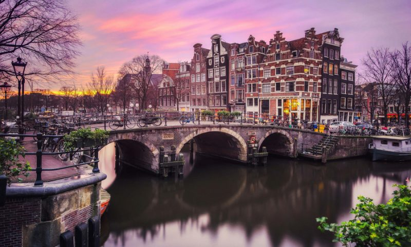 Sunset Amsterdam