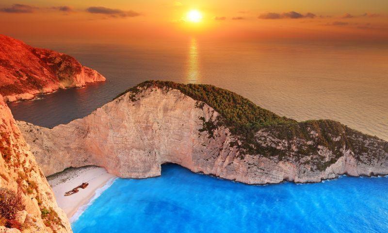 Sunset Zakynthos