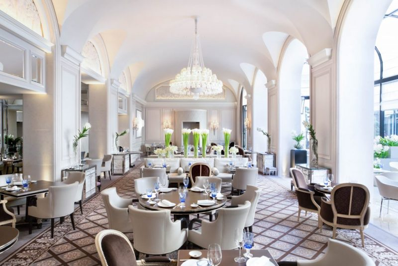L'Orangerie - Four Seasons Hotel George V - Paris